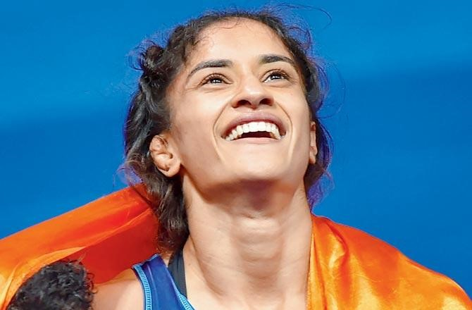 Asian Games medalist, Vinesh Phogat