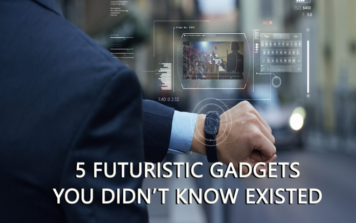 5 futuristic gadgets you didn't know existed