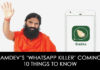 Ramdev's 'Whatsapp Killer' Coming