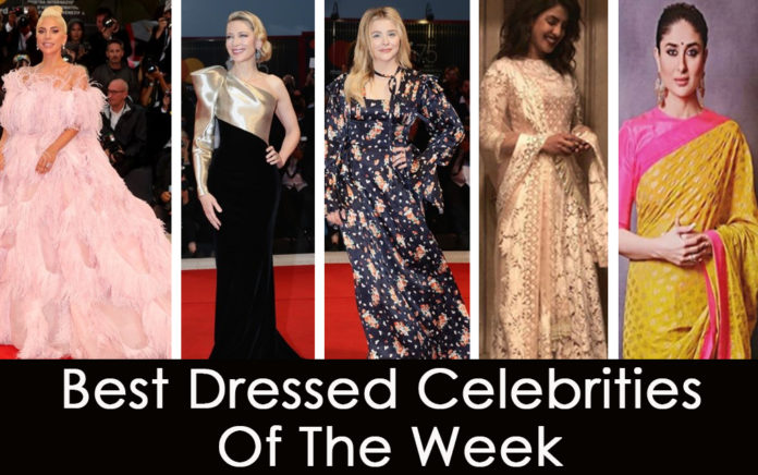 Best celebrities of the week