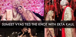 Wedding of Sumit vyas and Ekta Kaul