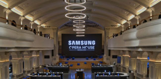 samsung takes opera house