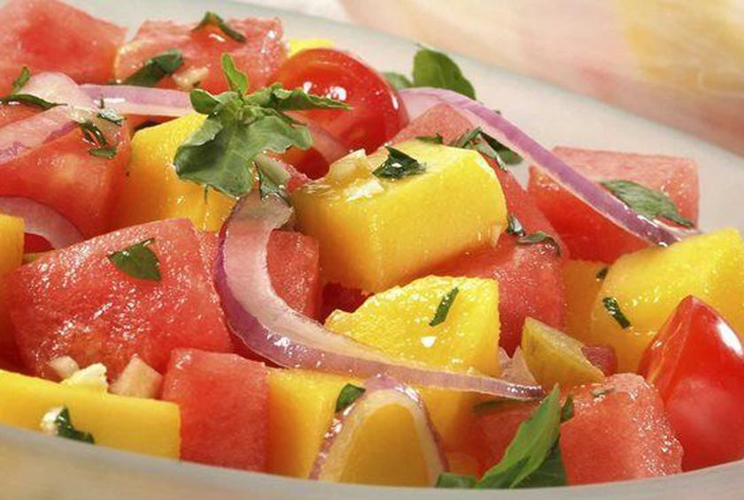 Watermelon and Mangoes