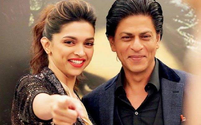 deepika with shah rukh khan