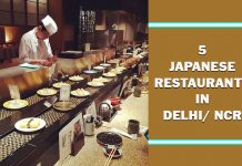 5 Japanese restaurants in Delhi/ NCR to top your bucket list!